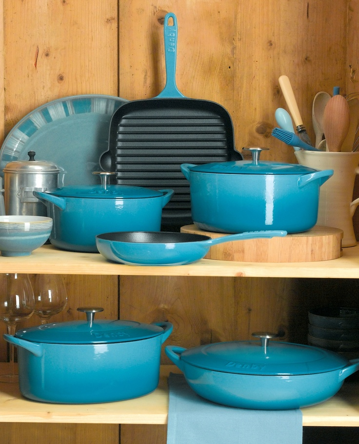 The latest dimension to Denby's extensive product offering is Cookware - a special collection of cast iron ceramics oven to tableware and utensils.  www.denby.co.uk #tableware #denby #cookshop #cookware