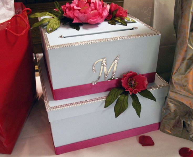 DIY Wedding Card Box Project - directions for cutting boxes