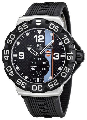 TAG Heuer Watch Prices Men's WAH1013.FT6026 Formula 1 Black Dial Dress Watch http://www.slideshare.net/CharlesITaylor/watches-for-men-2013-best-mens-watches #BestMensWatches