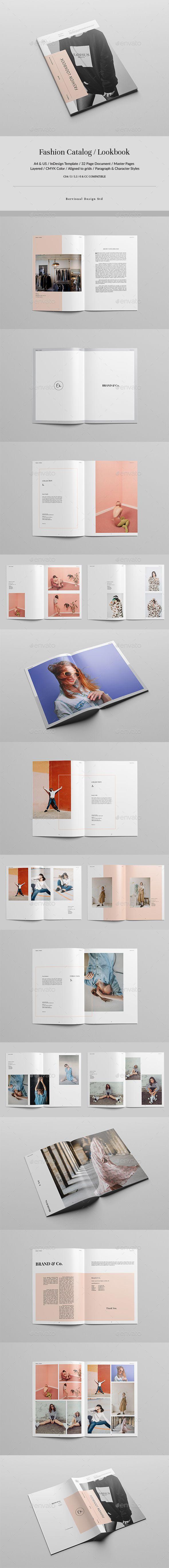 Fashion Catalog / Lookbook - Catalogs #Brochures Download here: https://graphicriver.net/item/fashion-catalogue-lookbook/19316199?ref=alena994