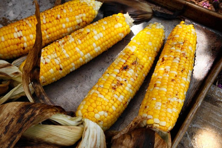 This grilled corn recipe brushed with soy sauce and mirin is a Japanese take on a summer favorite.
