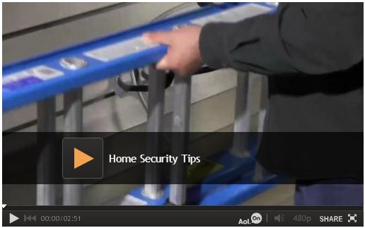 Home Security Tips: Given the right tools and enough time, a determined thief can steal almost anything. We share three common backyard targets for thieves and what you can do make it harder to steal your stuff. Watch video: http://www.familyhandyman.com/home-security/home-security-tips