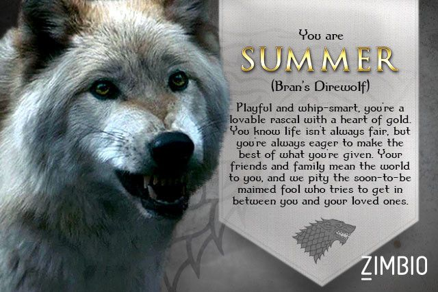 which 39 game of thrones 39 direwolf are you gaming and songs. Black Bedroom Furniture Sets. Home Design Ideas