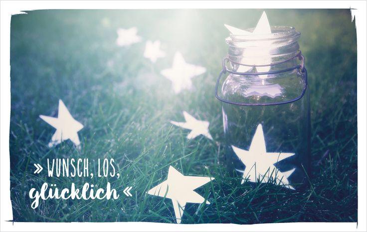 Wunsch, los, glücklich! energyweeks vossentowels postcardswithlove positivequote thinkpositive motivation inspire