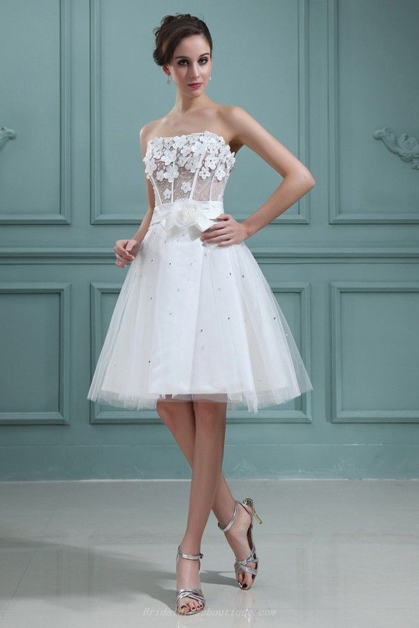 8 best Things to Wear images on Pinterest   Short wedding gowns ...