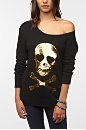 Wildfox Couture Sequined Skull Sweater $178