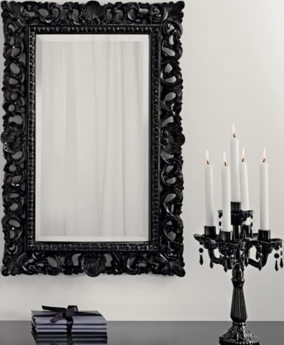 Black Wall Mirrors 48 best mirrors images on pinterest | bespoke, wall mirrors and rococo