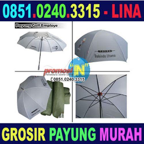 Jual Payung Golf Promosi Murah Jember - 0851.0240.3315