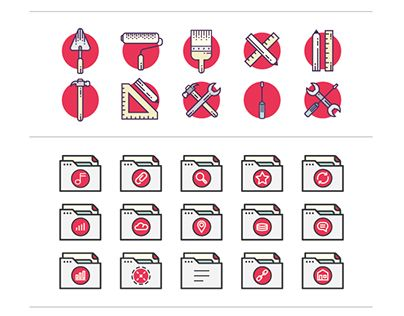 """Check out new work on my @Behance portfolio: """"Some of my vector iconsets."""" http://be.net/gallery/50130051/Some-of-my-vector-iconsets"""