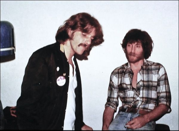 J.D. Souther and Glenn Frey! OMG swoooooon! Love them, both are so fine. Longbrach Pennywhistle had to be the hottest band of all time