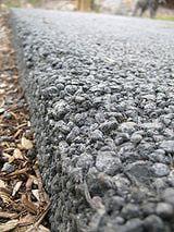 Pervious Concrete: Example of pervious concrete.