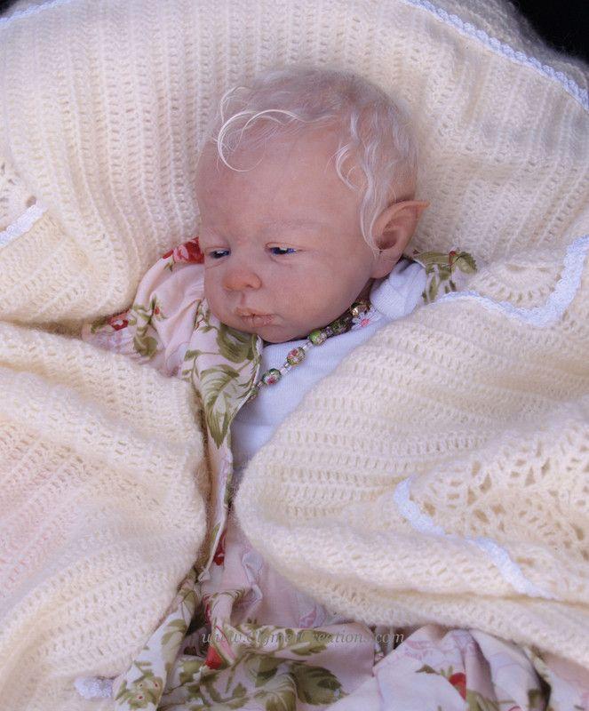 OOAK Fairy Baby..
