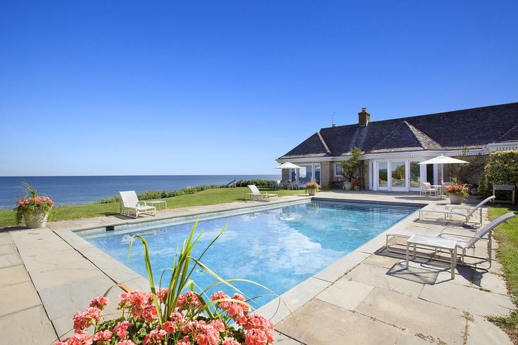 20 Drew Lane  New York, East Hampton: East Hampton, Gunite Pools, Easthampton Pools, Dreams Home, Hampton Beautiful, Hampton Anyon, Pools Houses, Real Estates, Spaces Pools