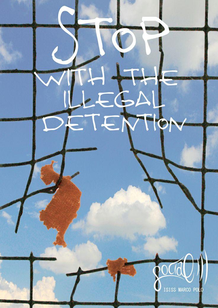 Campagna contro il centro di detenzione di Guantanamo. Thomas Pizzinga, 2009