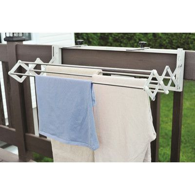 17 best ideas about clothes drying racks on pinterest - Etendoir a linge mural retractable ...