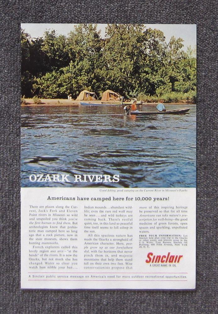 SINCLAIR MOTOR OIL 1962 - Auto Car Magazine Page Sales Ad Advertisement Brochure