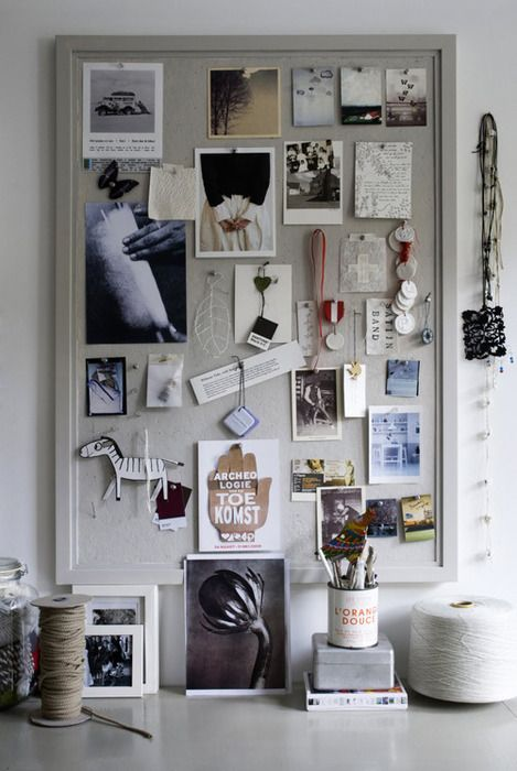 I need an inspiration board like this.