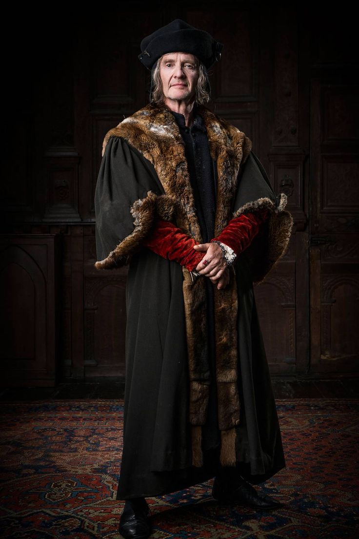Anton Lesser as Sir Thomas More in Wolf Hall (BBC 2015) - he's not the noble hero of A Man for All Seasons