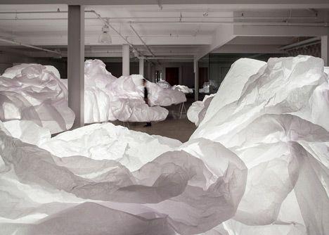 Cloud Installation by Mason Studio