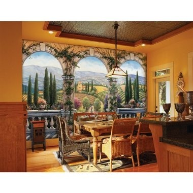 Murals Farms And Olives On Pinterest