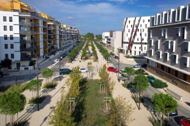 Les Grisettes à Montpellier (Hérault).