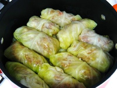 Sarma is a must for winter dinners!   (Serbian Stuffed Cabbage)