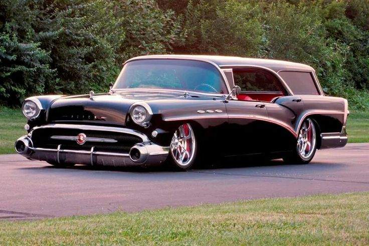 57 Buick Riviera Estate Wagon..