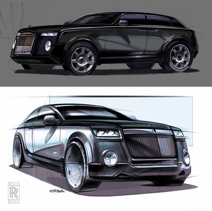 sketch vehicle
