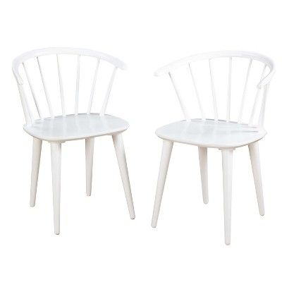 Kitchen Chairs At Target Linen Tufted Dining Chair White Dine In 2018