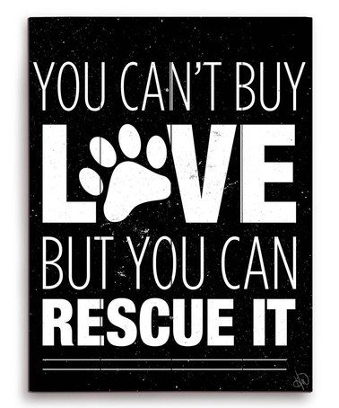 Look at this #zulilyfind! Black 'You Can't Buy Love' Wall Art #zulilyfinds