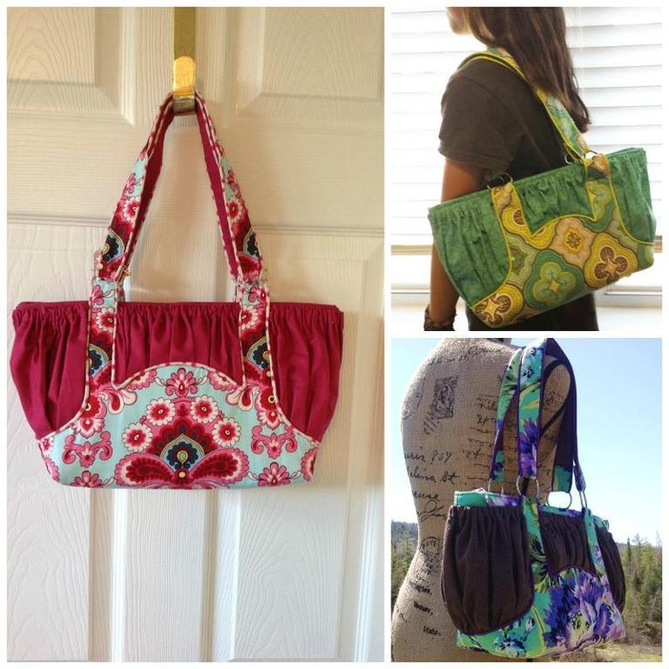 The Savannah Bag – PDF Sewing Pattern by Cozy Nest Designs  ❀  A lovely, feminine, and very practical bag to sew!