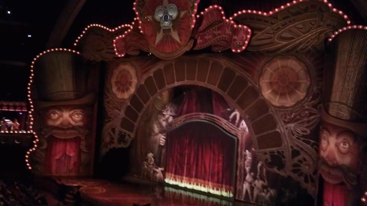 Cirque de Solei Iris stage