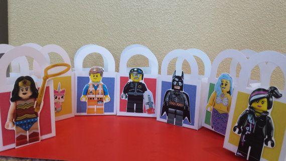 Lego Movie Candy Favor BoxLego Movie Birthday by ChristNovMama