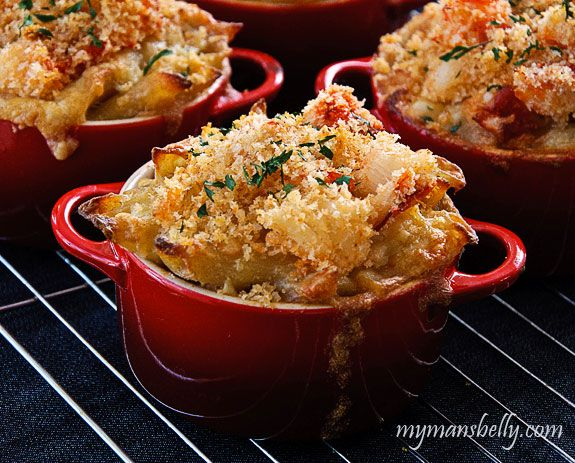 Lobster Macaroni-and-Cheese