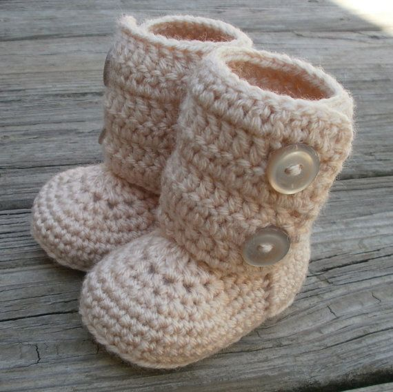 Toddler Winter boots by fromtheheart3 on Etsy, $22.00