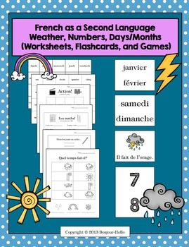 French as a Second Language (FSL) Bundle for Beginning Teachers