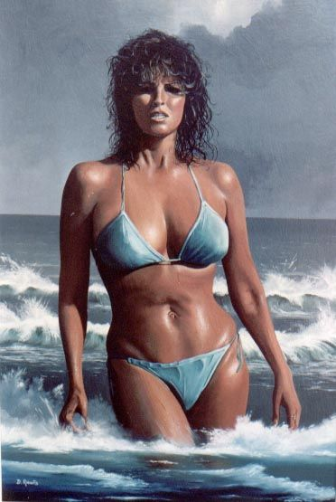 Raquel Welch as we all remember her.