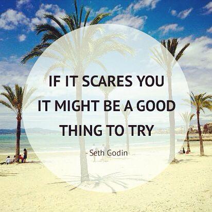 """Nieuw artikel online! - Alleen op vakantie, zou jij gaan? """"If it scares you, it might be a good thing to try"""""""