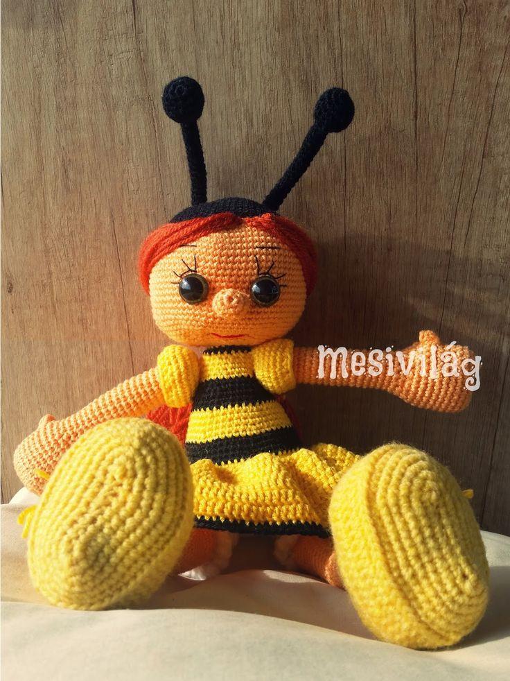 Tiny Mini Design - Méhecske baba / Beegirl