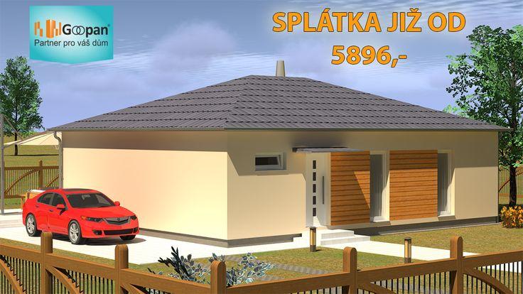 Stále ještě platíte drahé nájemné v bytě??? A co říkáte tomu, že můžete bydlet ve zcela novém, krásném rodinném domě Goopan G2-96 s dispozičním řešením 4+kk, s měsíční splátkou  od 5896,- Kč, který pro vás postavíme již za tři měsíce? :) Kompletní informace na: http://www.goopan-building.cz/g2-96/