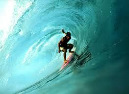 By age 50 I want to be surfing in Hawaii, maybe not quite at this level, but, I can dream