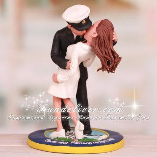 sailor and nurse wedding cake topper 17 best images about wedding cake toppers on 19619