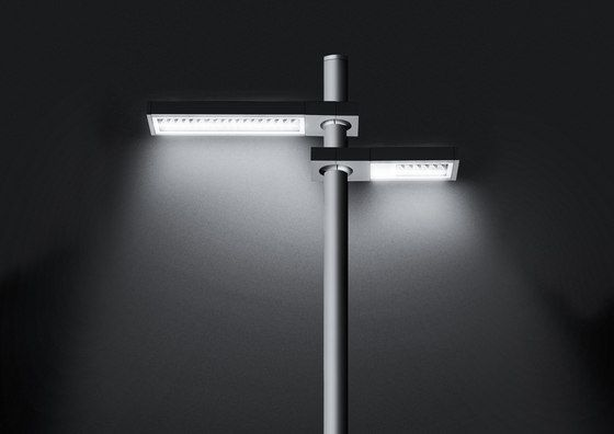 The first SIMES street lighting pole top . Essential in its forms and with  a clean cut design  the AVENUE is a fixture designed with an aluminium die cast housing that contains the latest state of th…