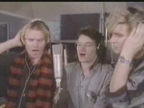 Band Aid 1984 - Do They Know It's Christmas......feed the world....let them know it Christmastime....