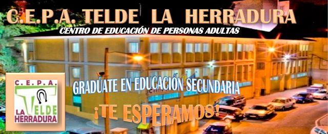 C.E.P.A TELDE LA HERRADURA: ESCUELA DE ADULTOS APRENDER NO TIENE EDAD C.E.P.A....