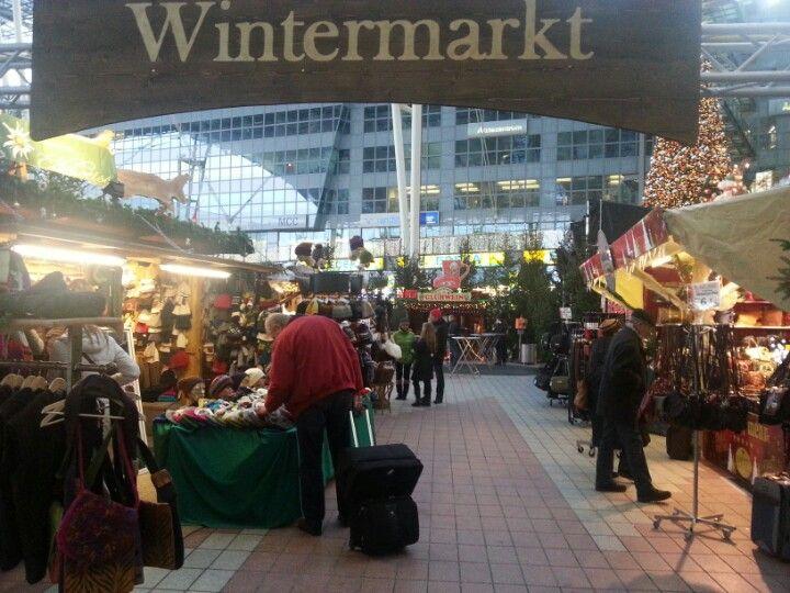 Wintermarkt am Flughafen, Munich Airport (MUC)