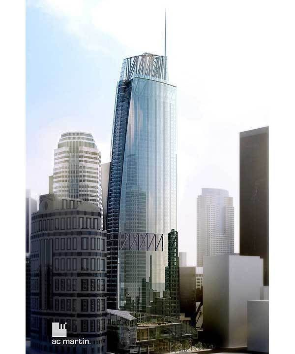 New Wilshire Grand Will Be the West Coast's Tallest Tower