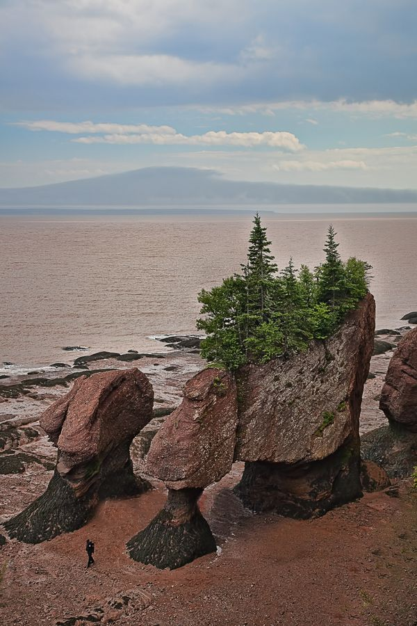 Fundy Bay, in New Brunswick, Canada