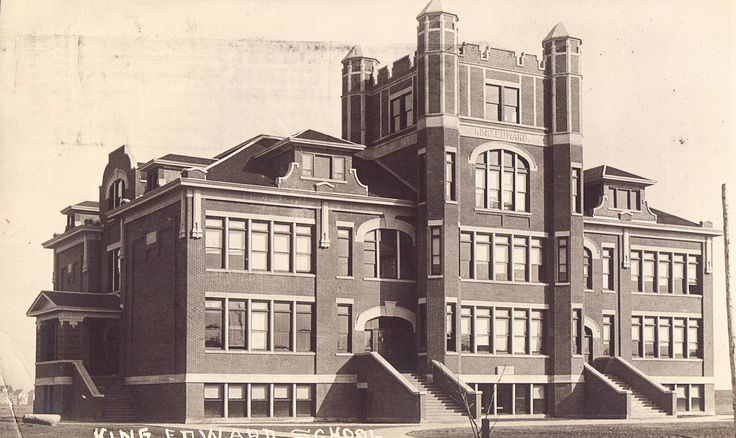 RPPC - King Edward School - Saskatoon,Saskatchewan