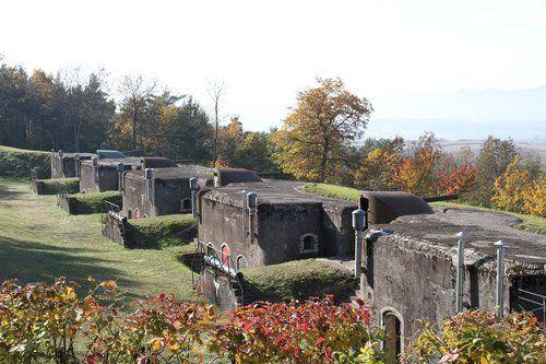 Fort de Mutzig/Feste Kaiser Wilhelm II - #Alsace